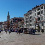 Wenige Touristen in Venedig