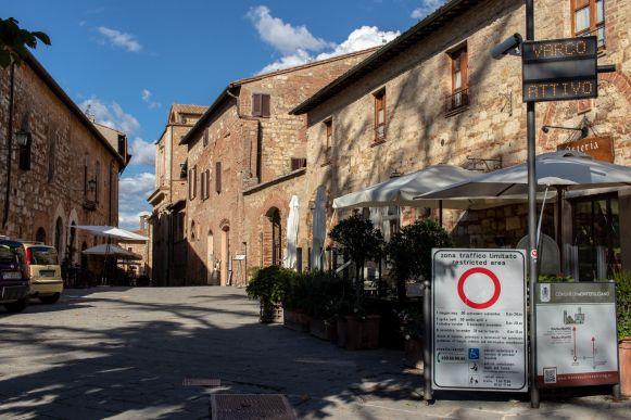 Zona Traffico Limitato von Montepulciano