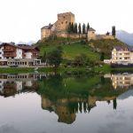 Burg in Ladis, Österreich