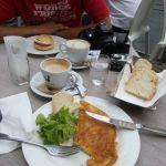 Frühstück in Florenz