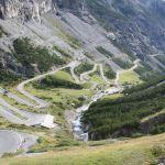Stelvio Pass Abfahrt