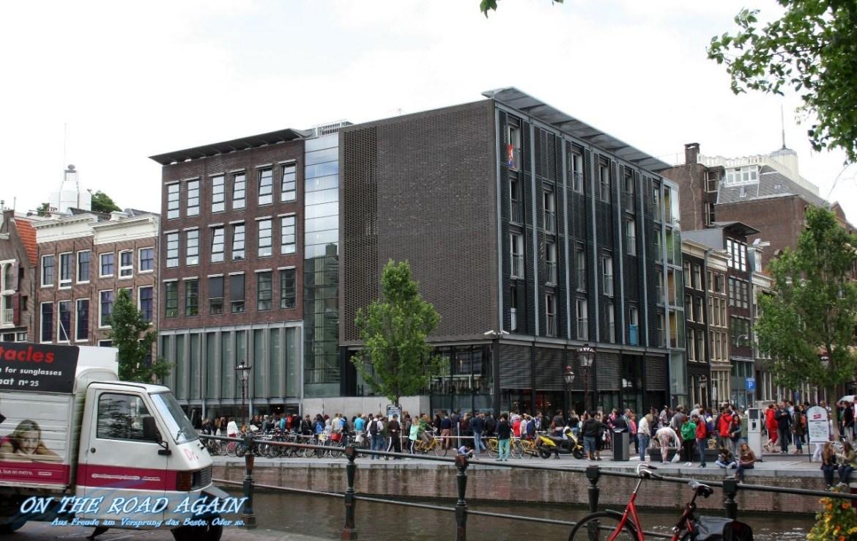 Anne Frank Haus Schlange