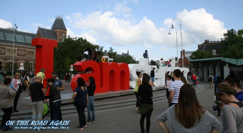I Amsterdam Museumplein
