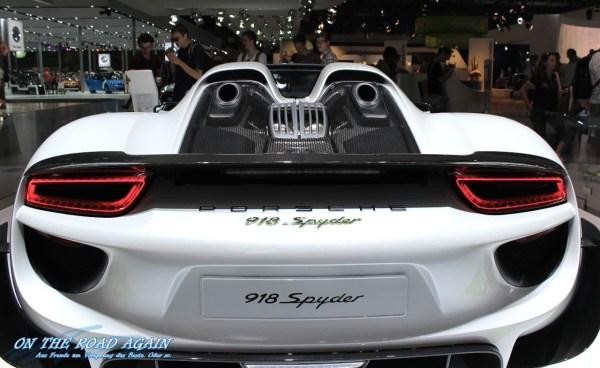 Porsche 918 Spyder Heck