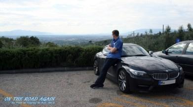 Sixt BMW Z4 35is in der Toskana