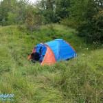 Beim Wildcampen im Südharz
