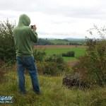 Willy beim fotographieren im Südharz