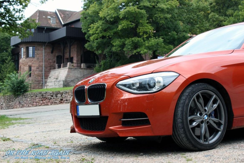 BMW M135i auf dem Kyffhäuser