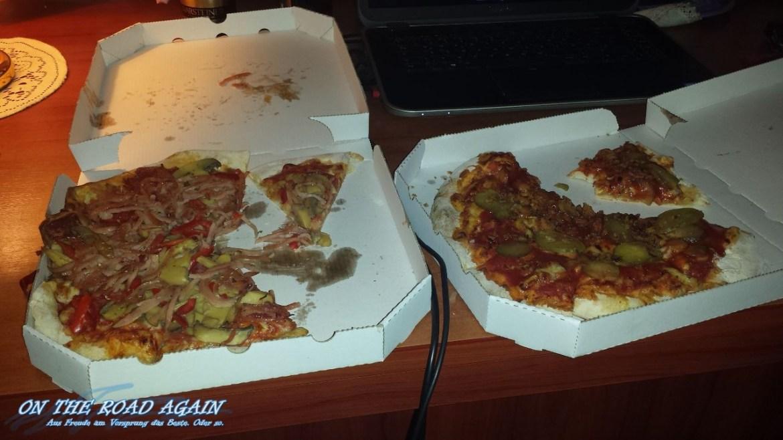 Ekelhafte Pizza