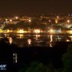 Portocolom Hafen bei Nacht