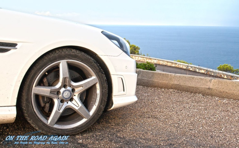 Mercedes-Benz SLK AMG-Paket Bremse