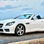 Mercedes-Benz SLK R172 offen