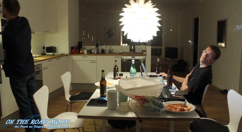 Abends im Apartment