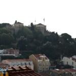 Castelo de Sao Jorge vom Miradouro Sophia de Mello aus