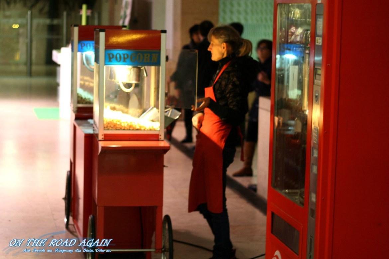 Popcorn in der U-Bahn von Lissabon