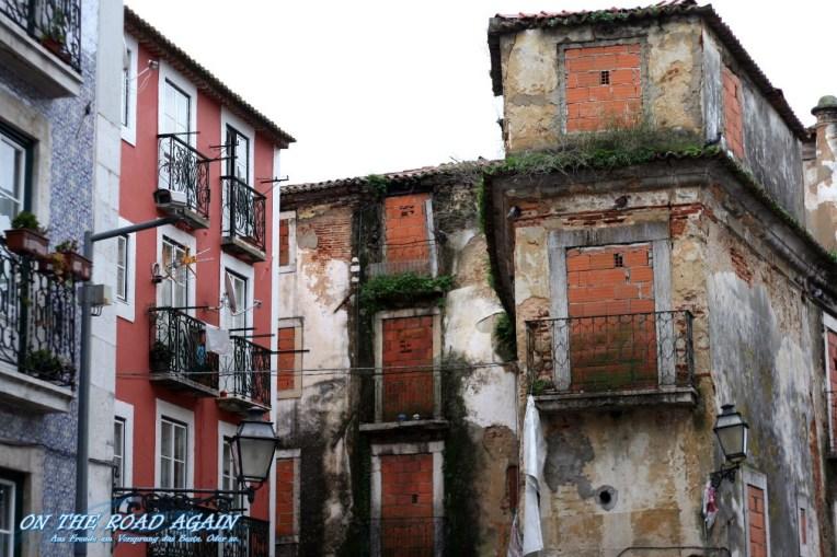 Ruinen mitten in Lissabon