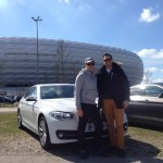 Team Bro-Power im BMW 530d xDrive