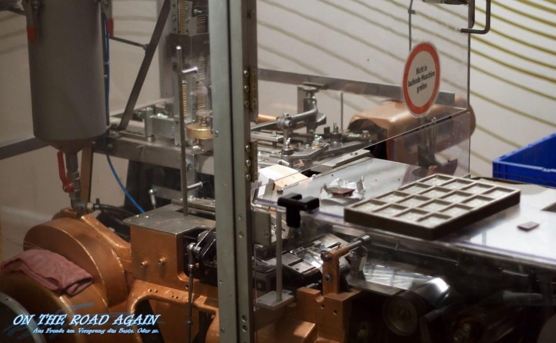 Schokoladenverpackungsmaschine im Chocoversum