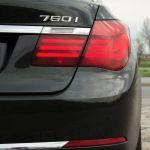 BMW 760i Heck