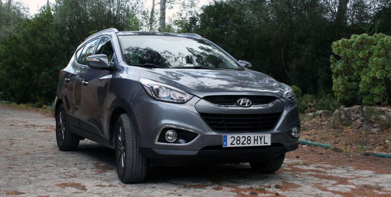 Hyundai ix35 auf Mallorca