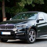 BMW X6 M50d Seitenlinie