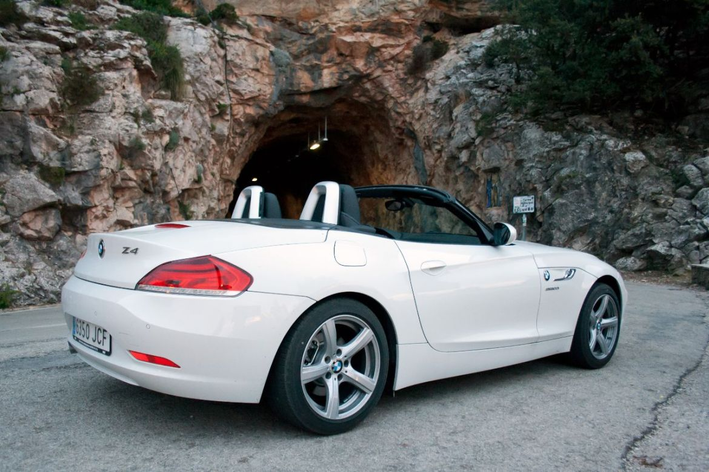 BMW Z4 Cabrio in der Serra de Tramuntana Mallorca