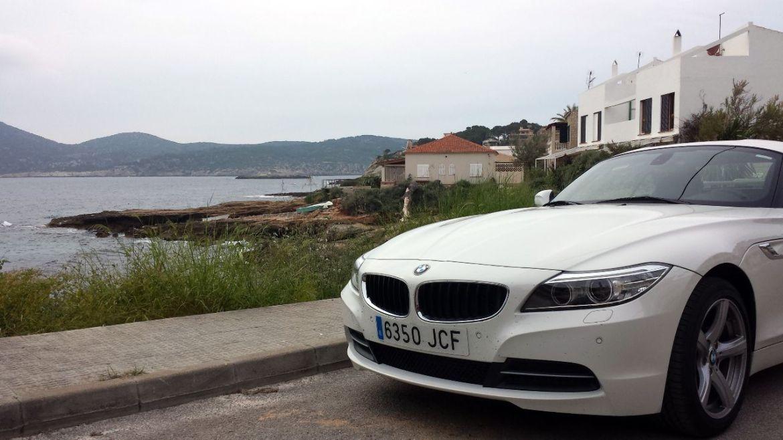 BMW Z4 in Sant Elm auf Mallorca