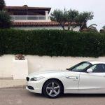BMW Z4 und Villa