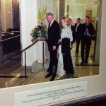 Bill Clinton im Grand Hotel Union Ljubljana