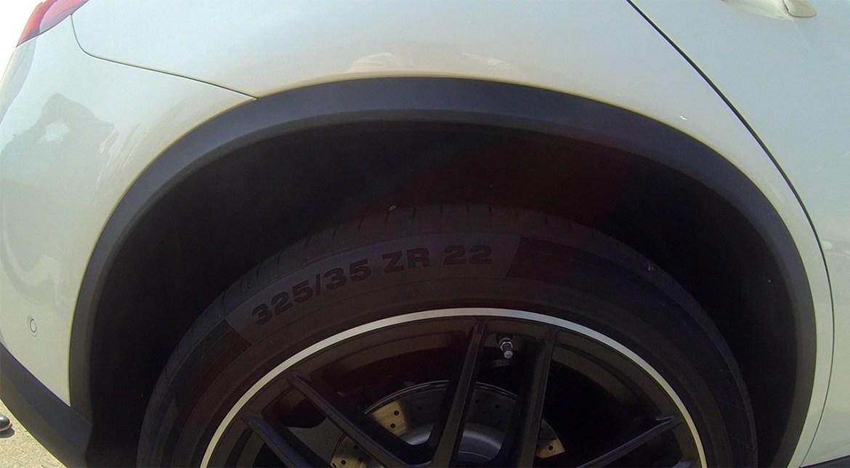 GLE 63 S Reifen Felge