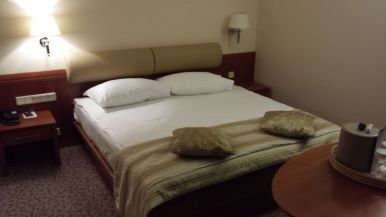 Grand Hotel Union Ljubljana Bett