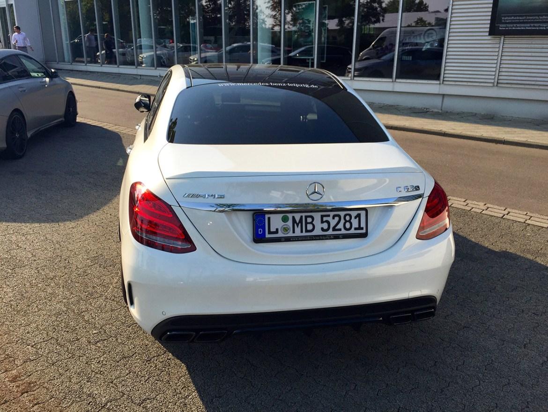 Mercedes-AMG C 63 S Heck