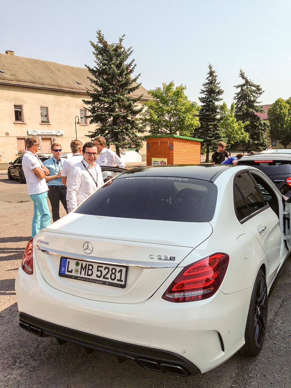 Mercedes-AMG C 63 S Heckansicht