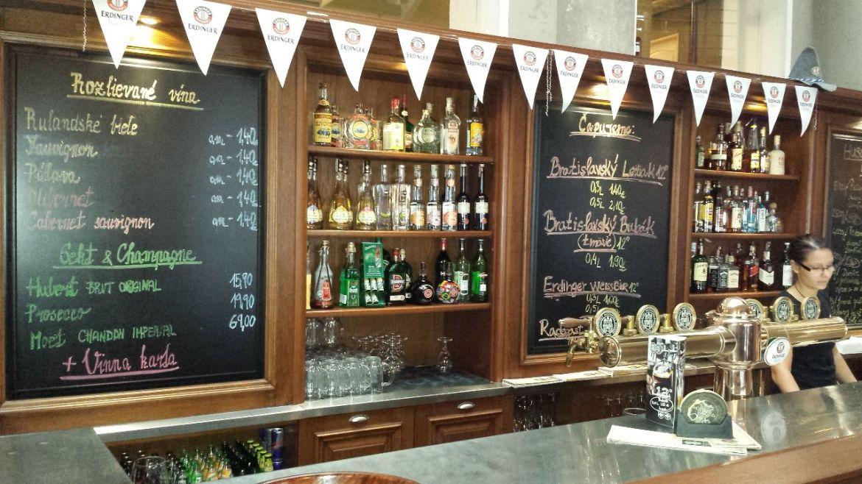 Bar Bratislavsky mestiansky pivovar