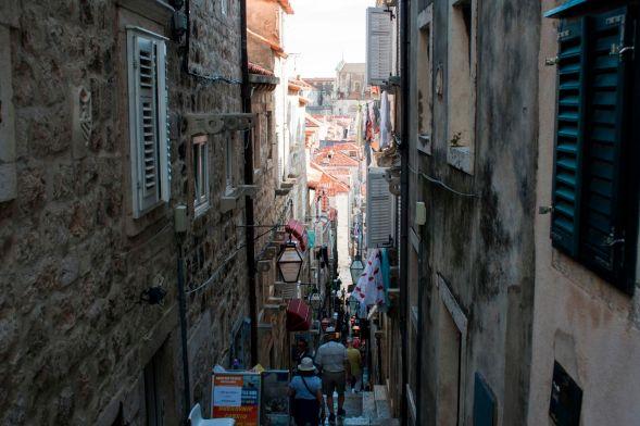 enge Gassen in Dubrovnik