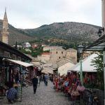 historische, mittelalterliche Altstadt von Mostar (4)