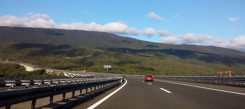 kroatische Autobahn