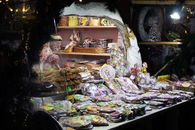 Süßigkeiten Wintermarkt Riga