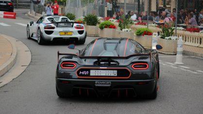 Koenigesegg Agera One in Monaco