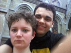 Team Connie & Blyde an der Kathedrale von Lausanne