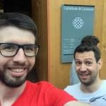Team Dolce Vita an der Kathedrale von Lausanne
