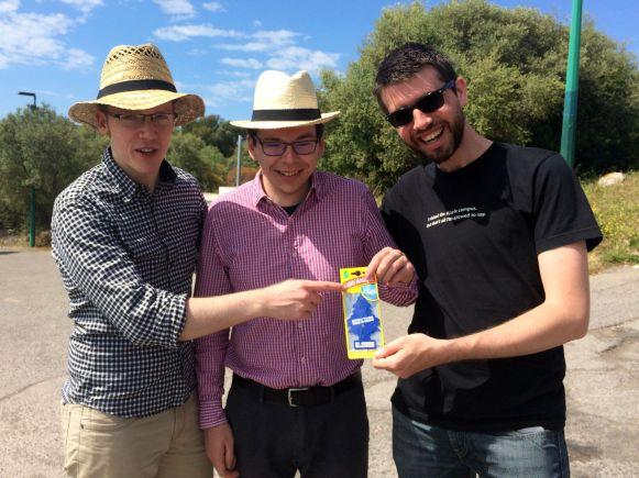 Team Dolce Vita beschenkt Thomas und Uwe