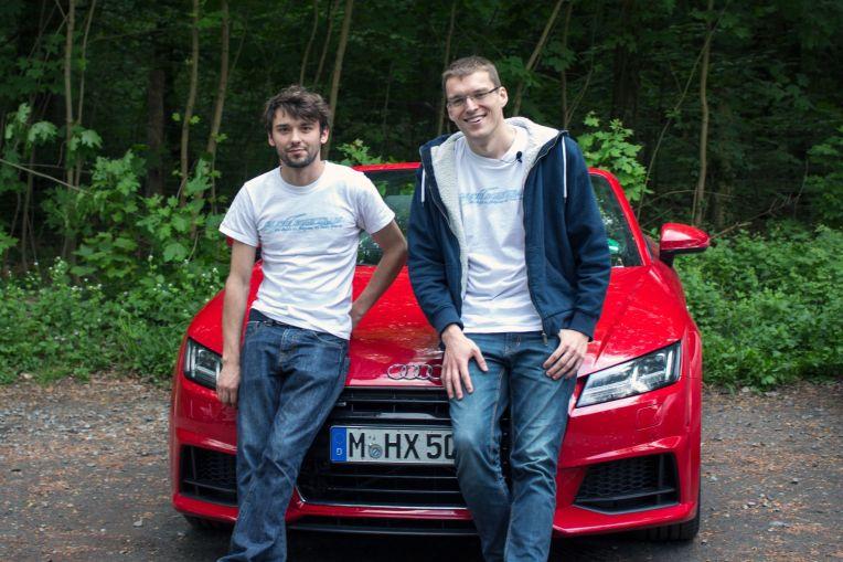 Team Orga - Robert & William mit Audi TT 2.0 TFSI Cabrio
