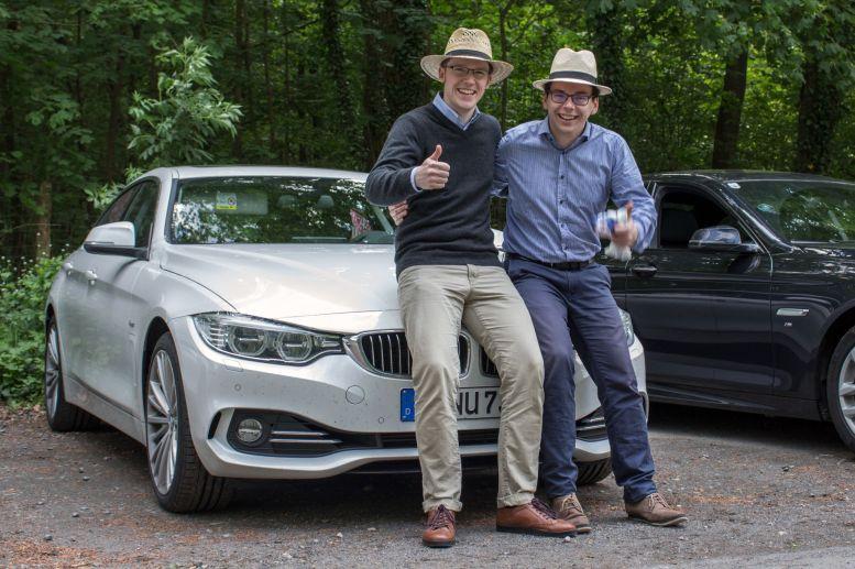 Team Strohhut - Uwe & Thomas mit BMW 430d