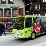 Elektrotaxi in Zermatt