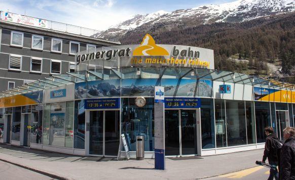 Gornergratbahn Terminal in Zermatt