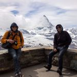 Robert und Willy am Matterhorn