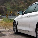 BMW 4er Cabrio in der Serra de Estrela