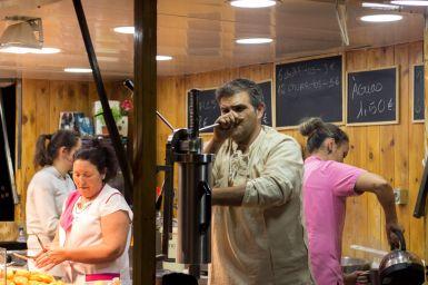 Churro Stand Miradouro Fest Lissabon