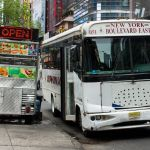 New Jersey Jitney Bus JFK Blvd East